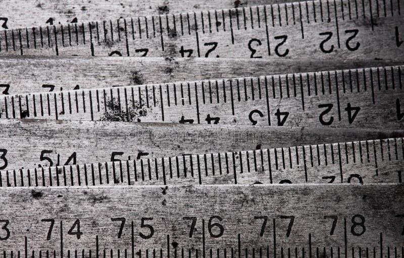 Mètre compressible en métal image stock