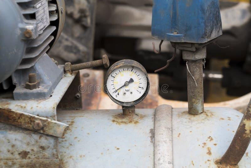Mètre de pression images stock