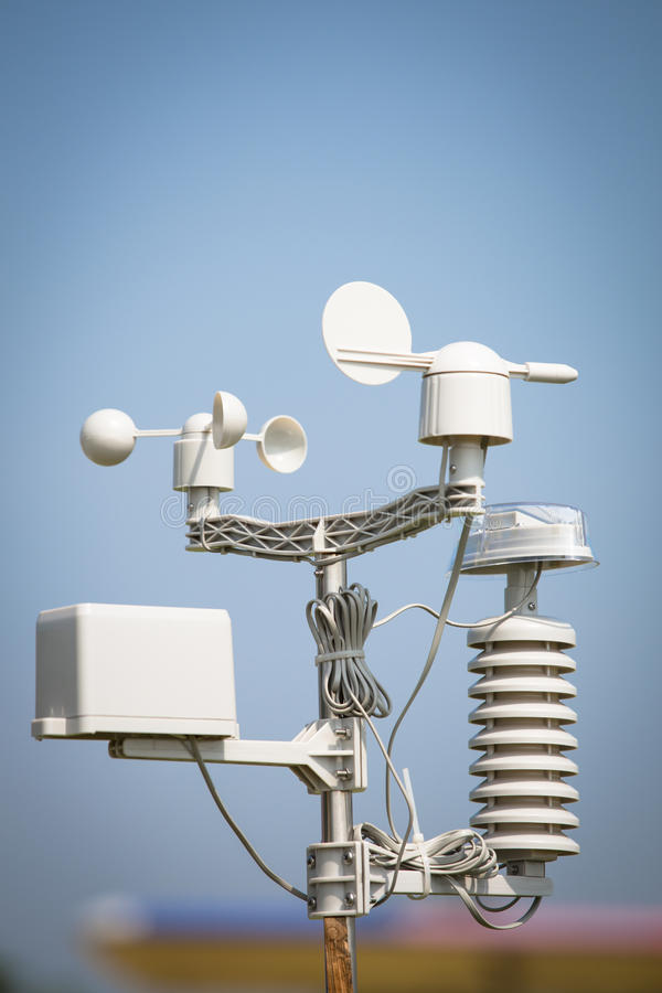 Mètre de vent photos libres de droits