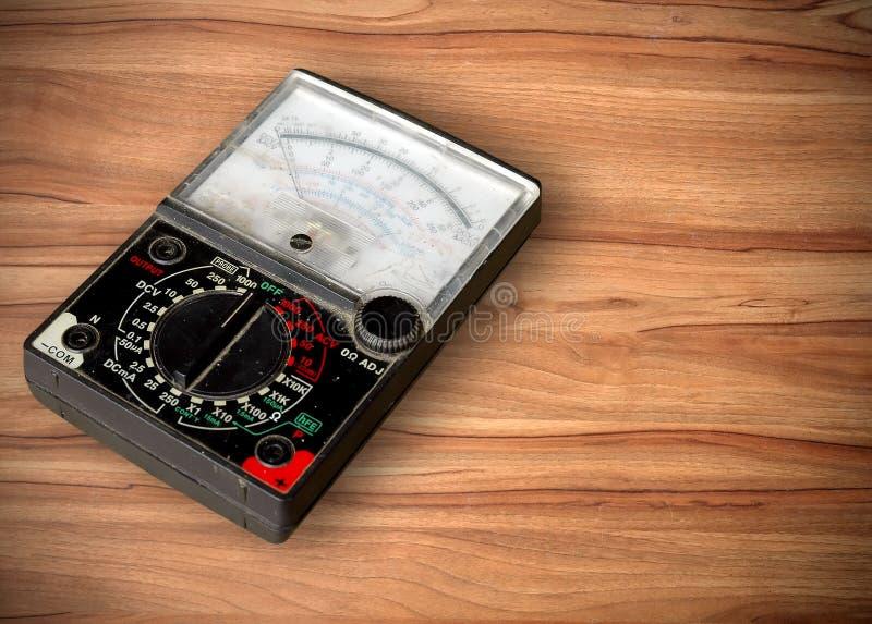 Mètre de volt photo libre de droits