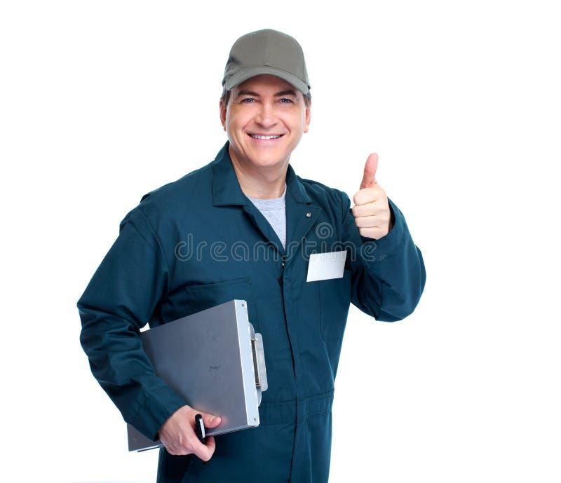 Mécanicien automobile. photographie stock