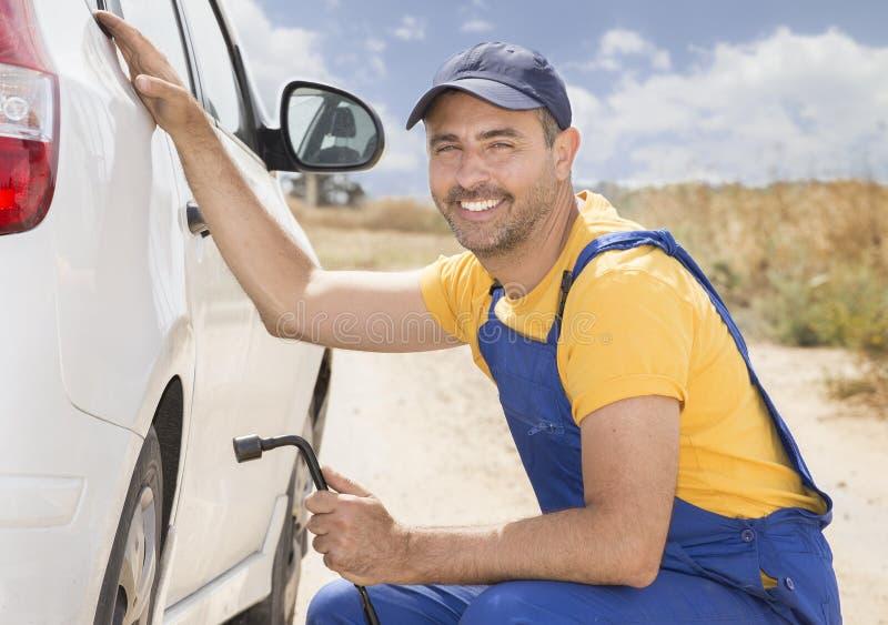 Mécanicien de véhicule photo stock