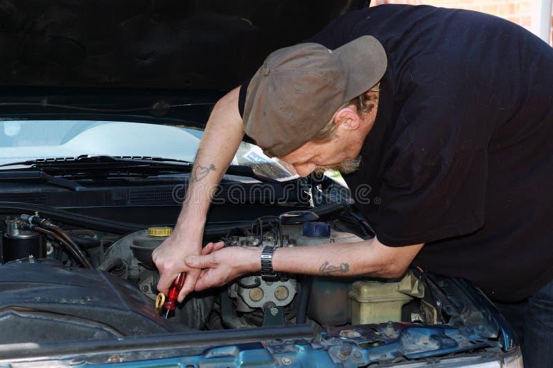 Mécanicien de véhicule. photographie stock libre de droits