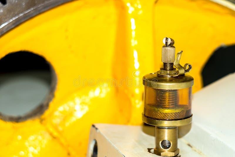 Mécanisme de graisseur dans l'atelier photographie stock