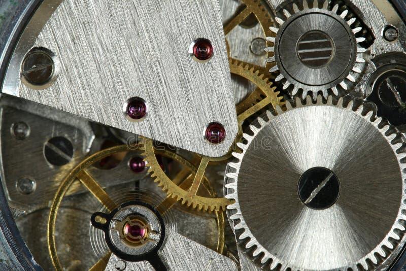 Mécanisme de montre photos stock