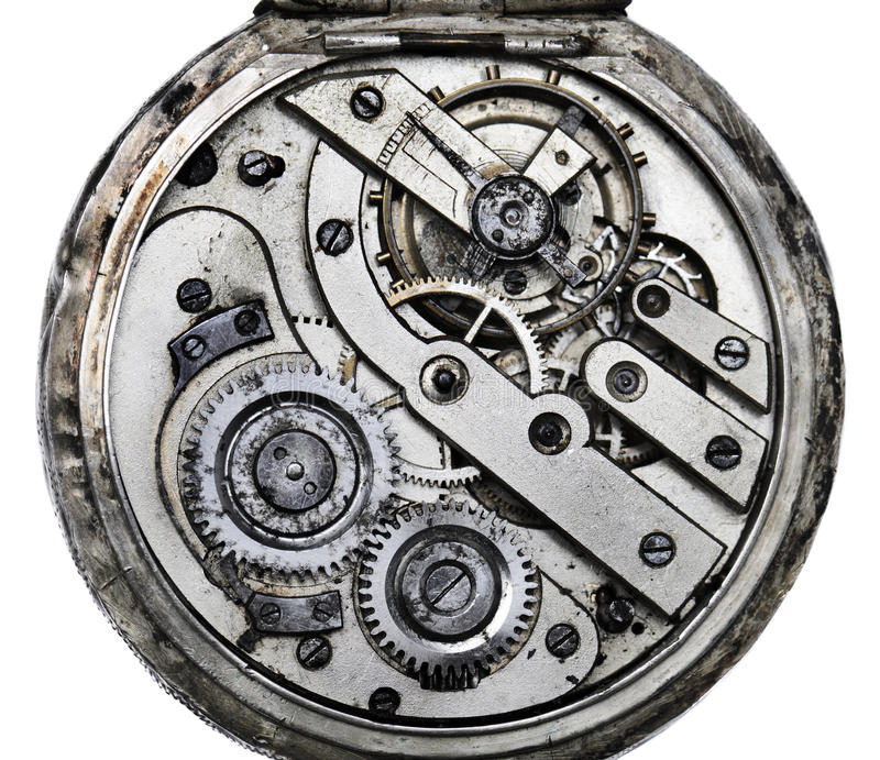 Mécanisme De Pocketwatch Image stock