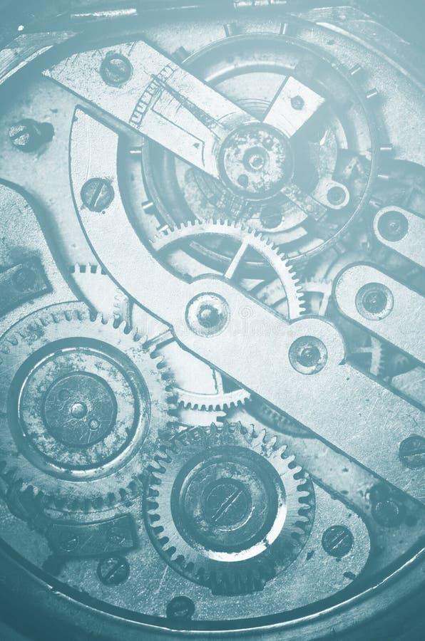 Mécanisme de vitesse et de dent de montre de poche photo libre de droits