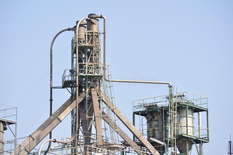 Mécanismes de crédits pétroliers photos libres de droits