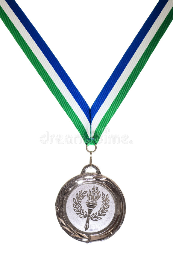 Médaille photos stock