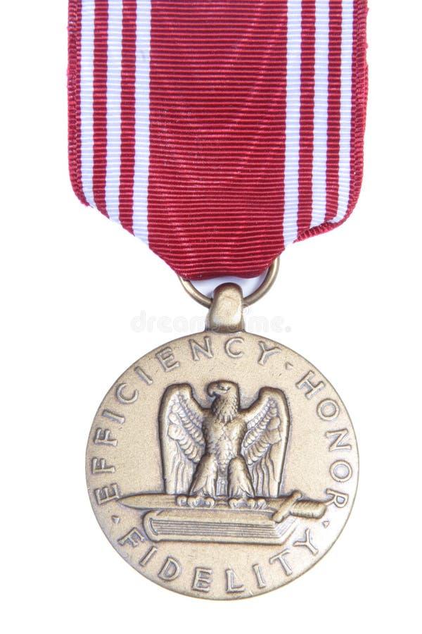 Médaille de fidélité d'honneur image libre de droits