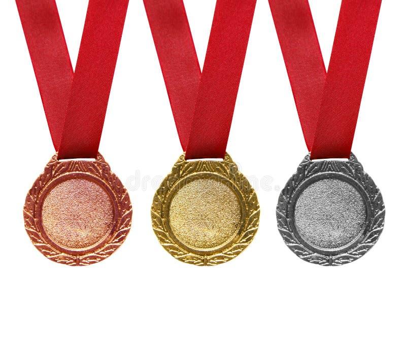 Médailles images stock