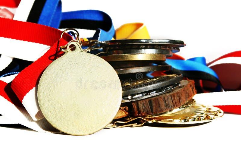 Médailles photos stock