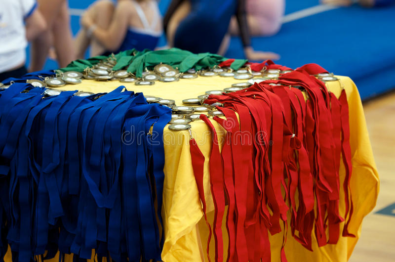 Médailles de sports photos stock