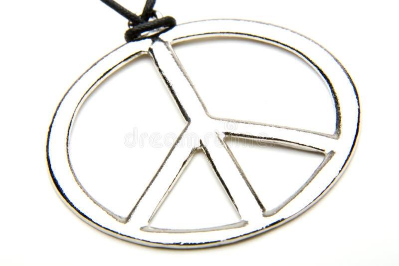 Médaillon de paix image libre de droits