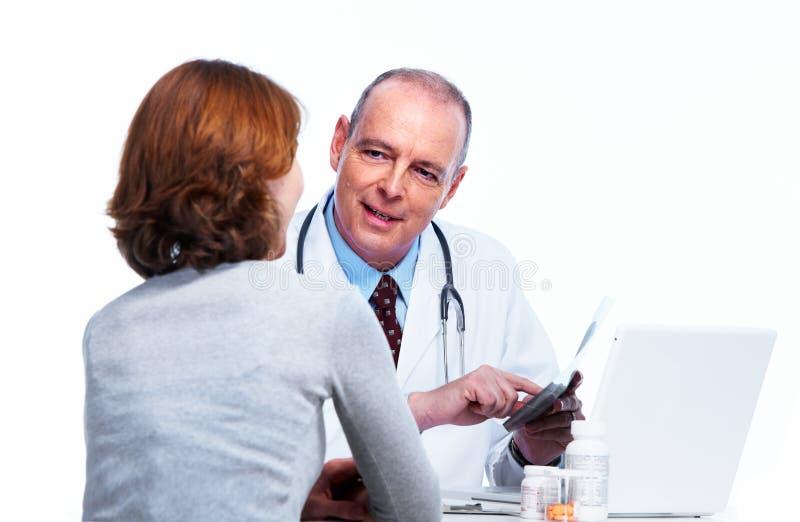 Médecin. image stock