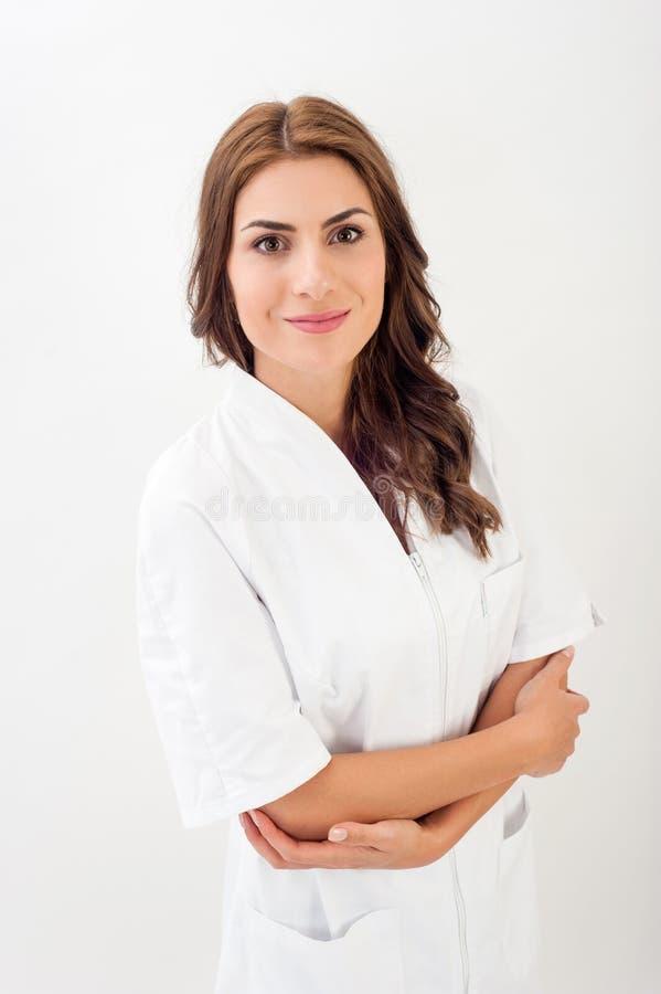 Médecin/infirmière féminins photo stock