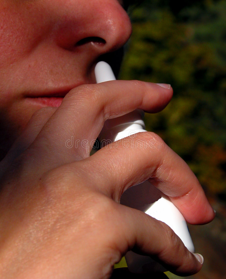 Médecine Anti-allergic photo libre de droits