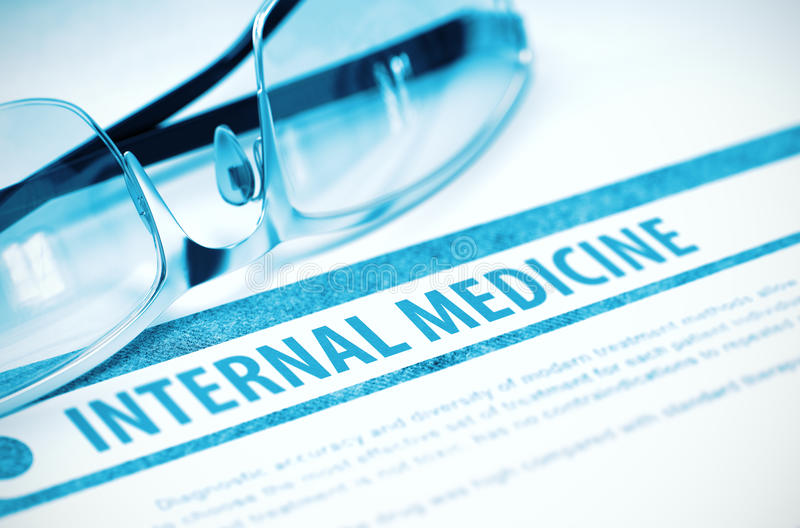 Médecine interne médecine illustration 3D photos stock
