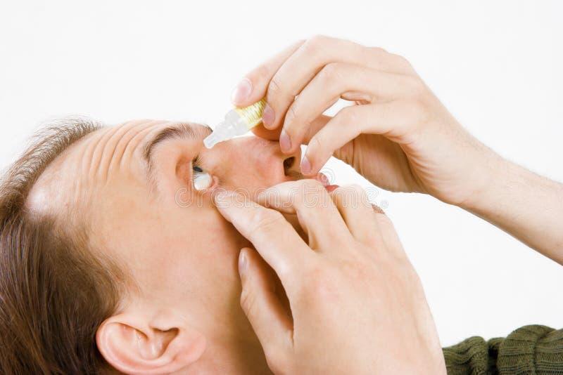 Médecine pour les yeux photo stock