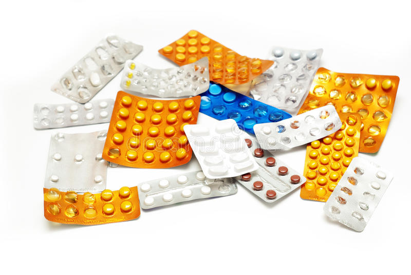 Médecines photos stock