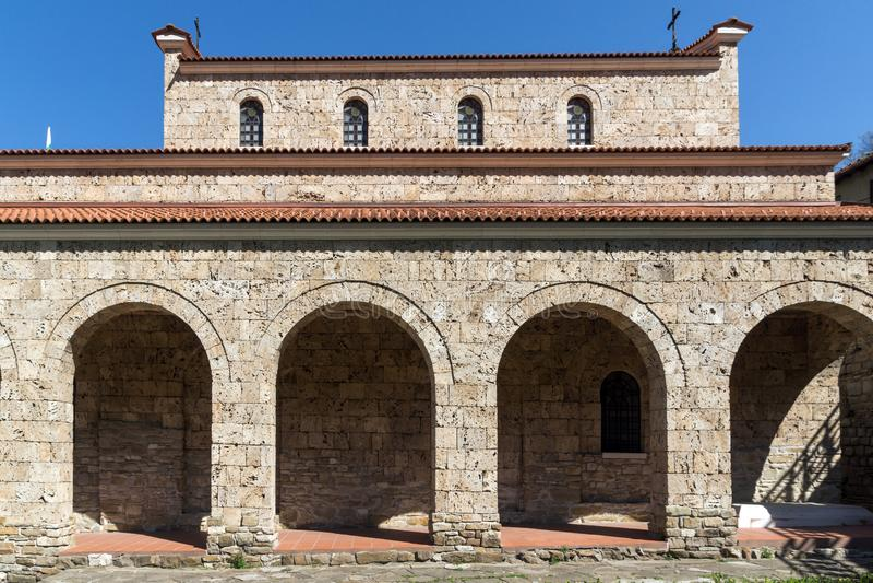 Médiéval l'église sainte de quarante martyres - église orthodoxe orientale construite en 1230 dans la ville de Veliko Tarnovo, Bu photos stock