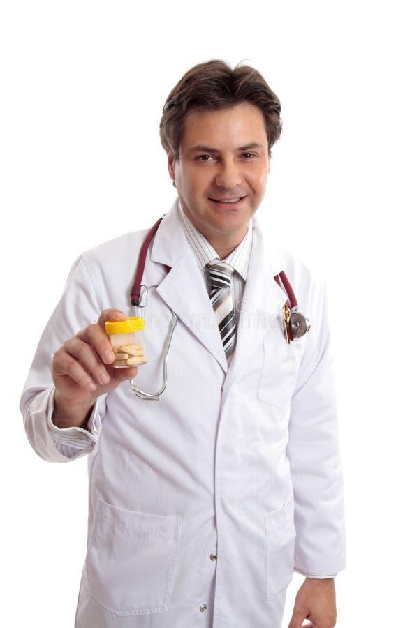 Médicament de conseil de docteur images libres de droits