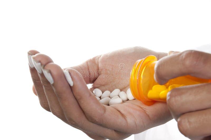 Médicament de prescription images libres de droits