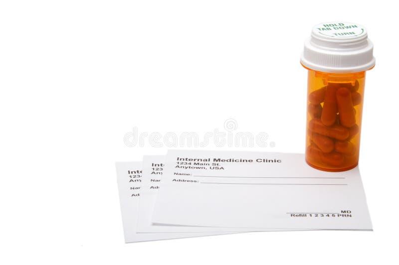 Médicament de prescription photo libre de droits
