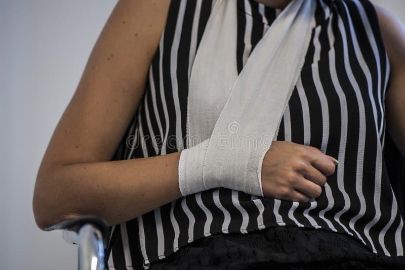 Médicament et bandage photographie stock