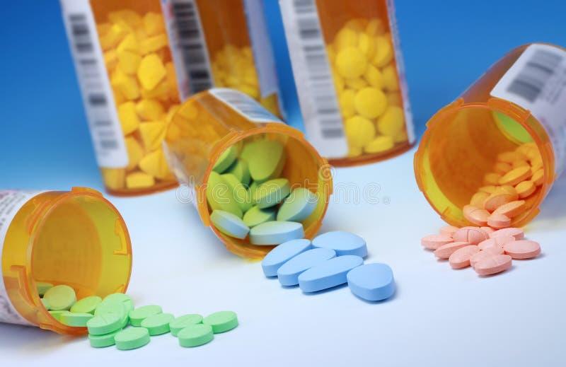 Médicaments de prescription images libres de droits