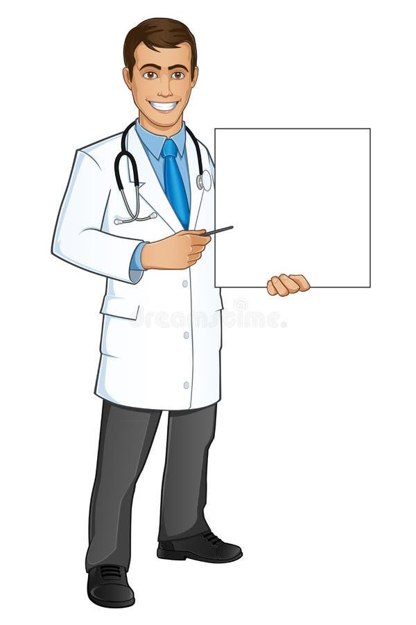 Médico stock de ilustración