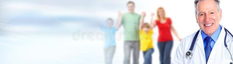 Médico de família imagem de stock royalty free