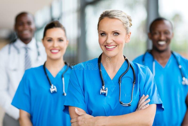 Médico fêmea fotografia de stock