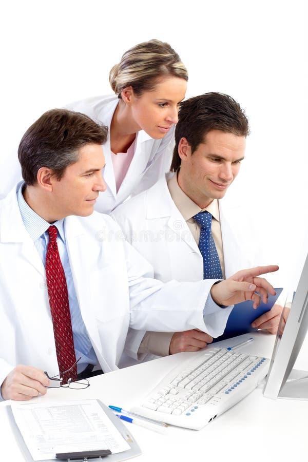 Médicos imagem de stock