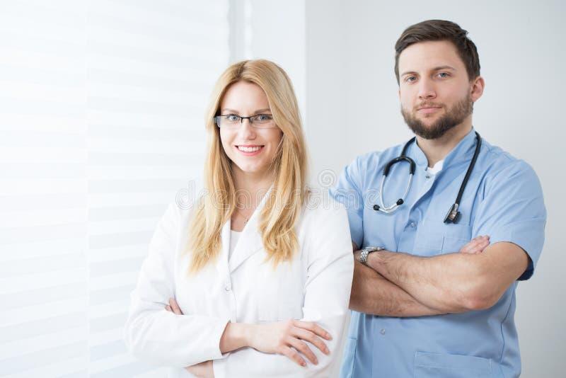 Médicos experientes fotografia de stock