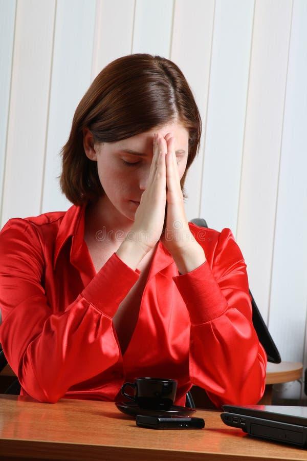 Download Méditation photo stock. Image du businesswoman, méditation - 5481066
