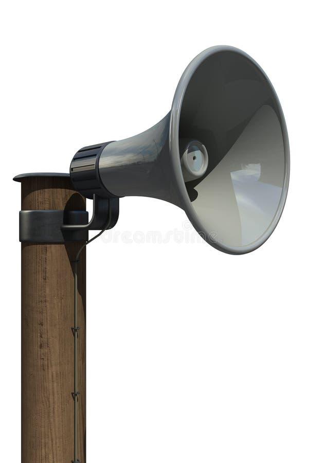 mégaphone de haut-parleur illustration libre de droits
