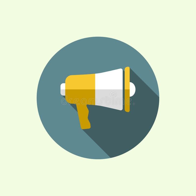 Mégaphone, haut-parleur illustration libre de droits