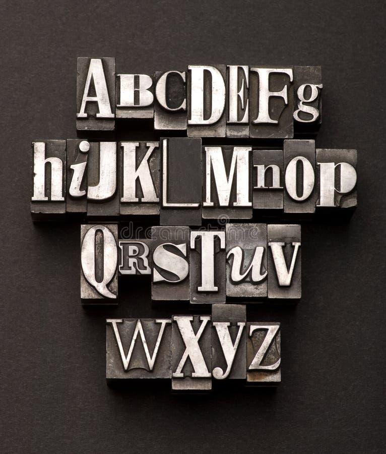 Mélange d'alphabet