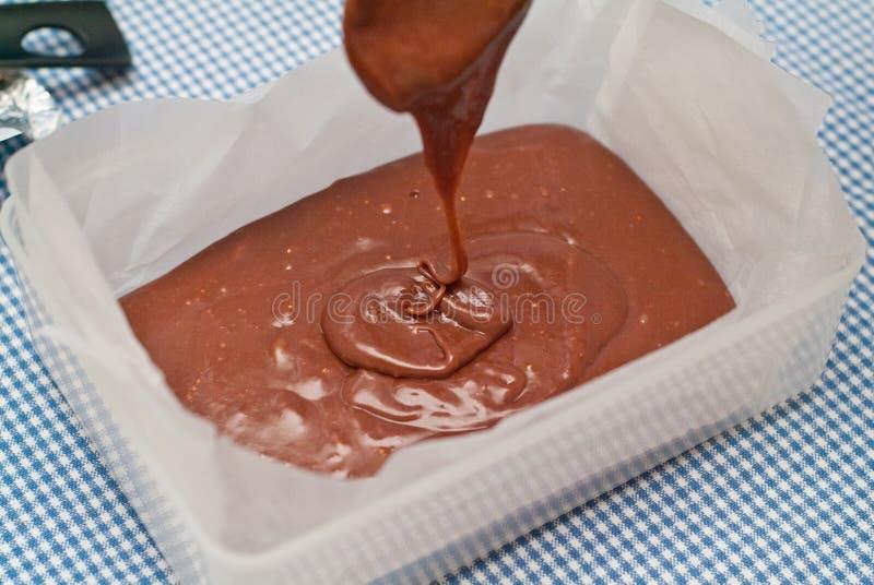 Mélange de chocolat photos stock
