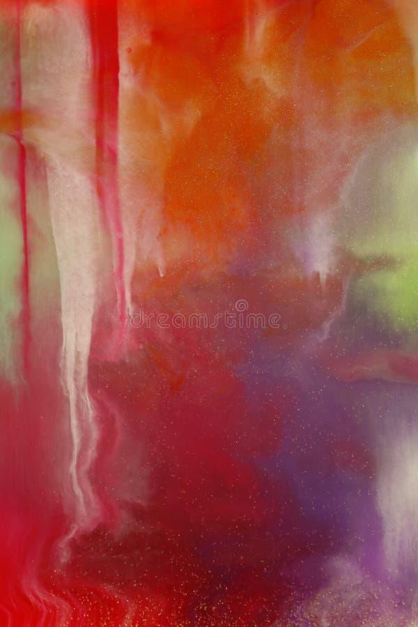 Mélange de couleur photographie stock