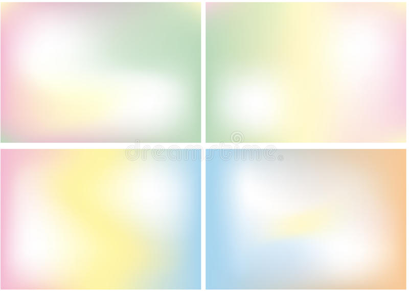 Mélange de couleur en pastel, fond illustration stock