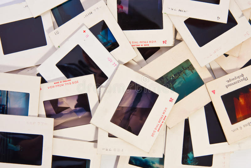 Mélange de glissières de photo photo stock