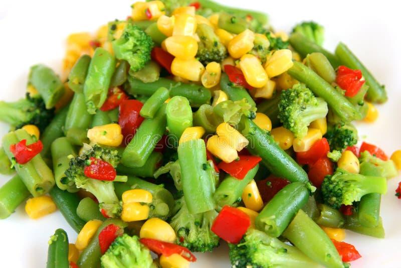 Mélange de légume cuit image libre de droits
