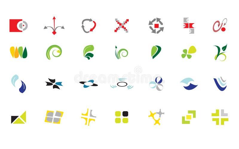 Mélange de logo photographie stock libre de droits