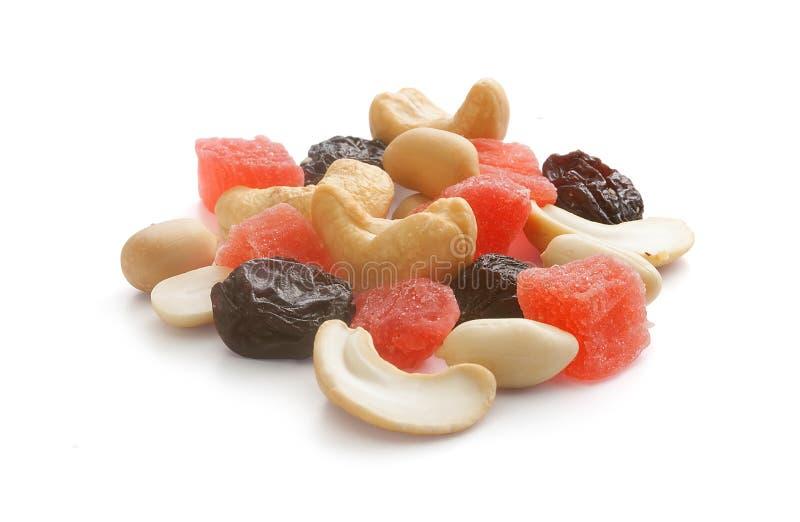 Mélange de noix et de fruits secs photos stock