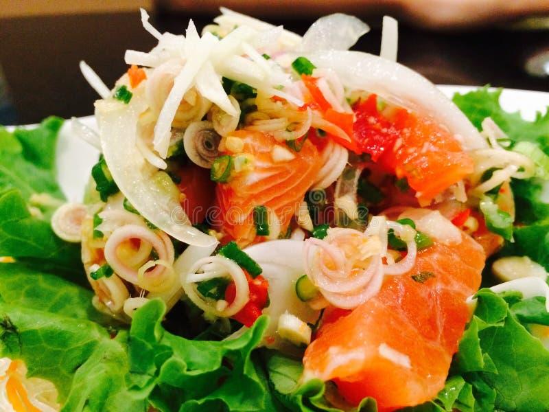 Mélange de saumons images stock