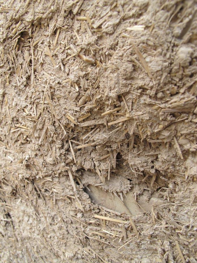 Mélange de texture de boue et en bois photo stock