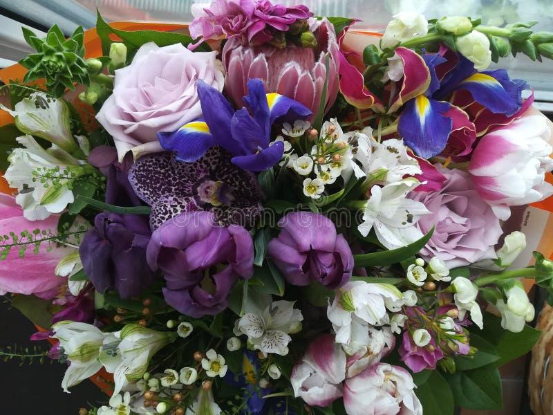 Mélange des fleurs image stock