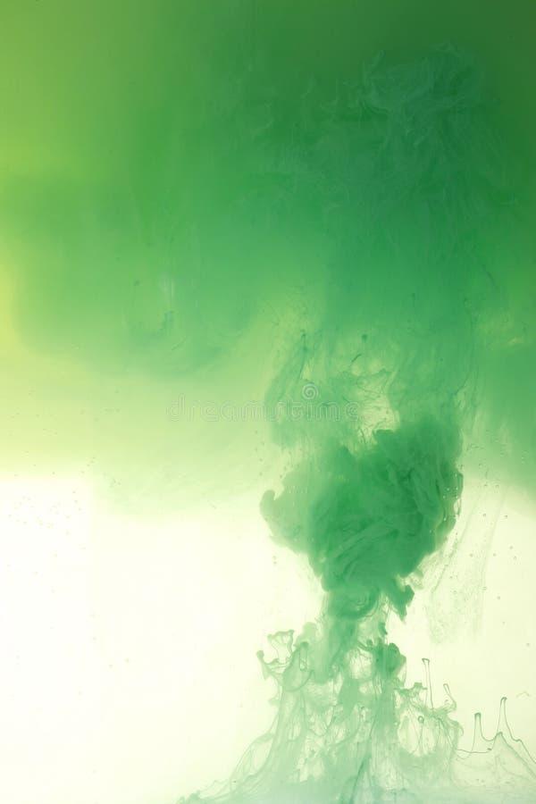Mélange vert de peinture photo libre de droits